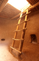 Inside the Alcove House Kiva