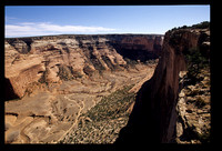 Canyon rim of Canyon De Chelly