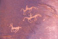 Petroglyphs at Canyon De Chelly